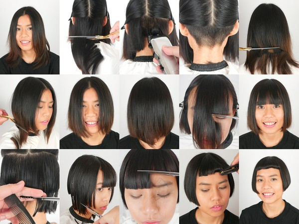 Shauna Short Bob Haircut