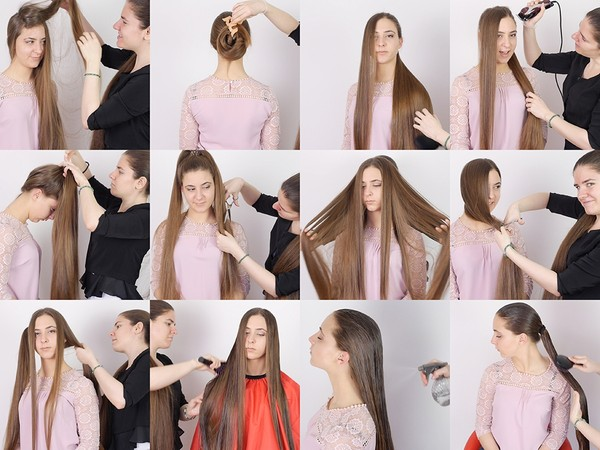 Nina Hair Play with Suzana