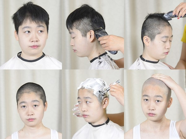 Miss Yun Pixie to Bald Shave (Part 3)