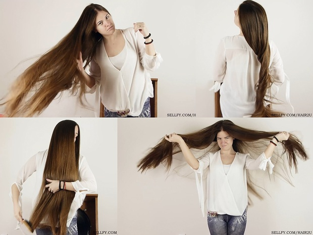 Suzana Windblown Hair