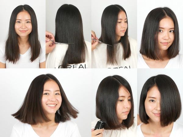 Lina Bob Haircut (Part 2)