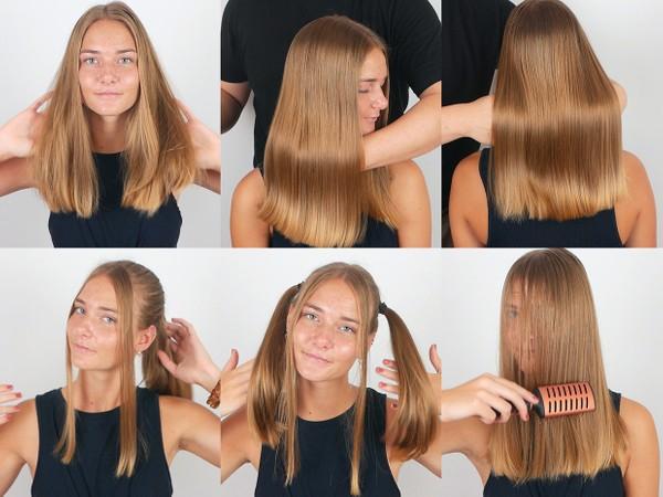 Lilian Hair Play