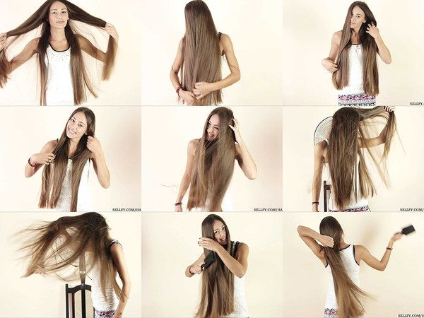 Helena Windblown Hair Play 1