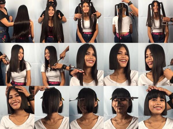 Aizel Bob Haircut