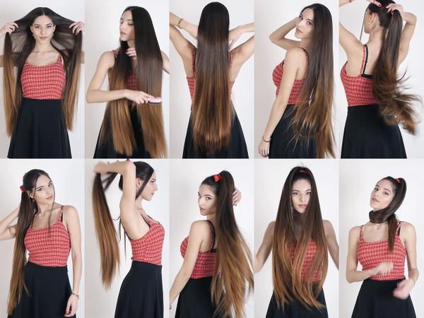 Daphne Hair Play 1