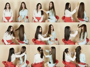 Marija & Sladjana Hair Play