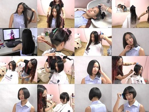 Miss Hui Bob Haircut