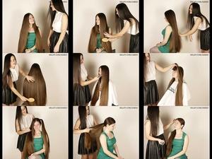 Suzana 5 & Biljana Hair Play