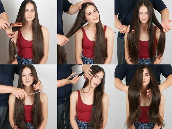 Bonnie ASMR Pretend Hair Pulling and Haircut 6