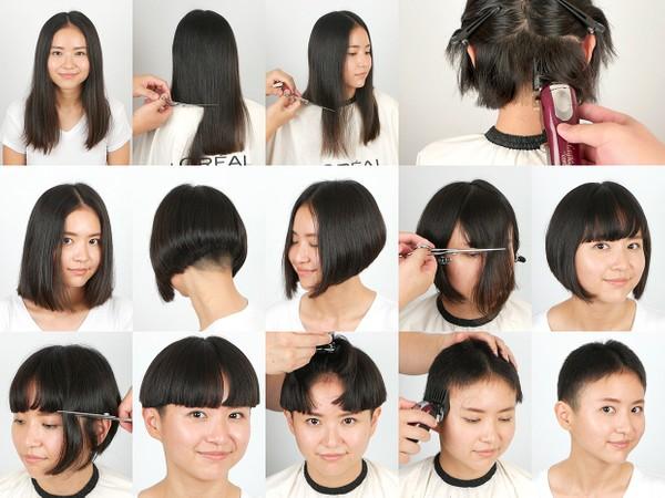 Lina Hair Play and Haircut (COMBO - all parts + photos)
