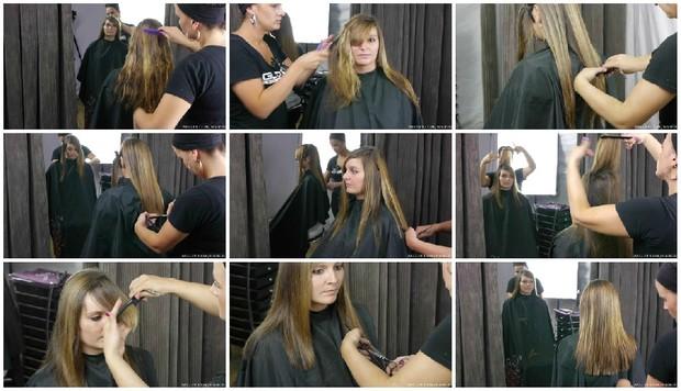 Marie's Medium Length Haircut