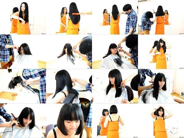Meiko Long to Bob Haircut