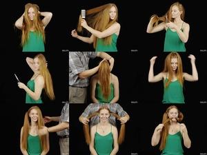 Ella's Hair Play Part 2
