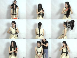 Miss Yi Hair Styles
