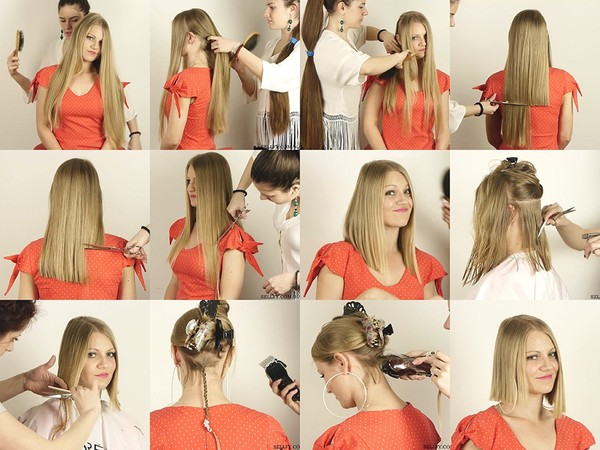 Jelena Long to Bob Haircut