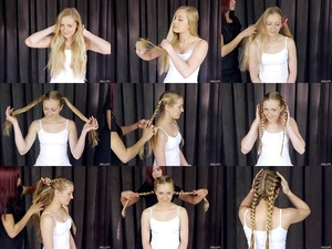 Kate's Double Braids