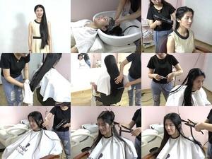 Miss Yi Hair Wash & Trim