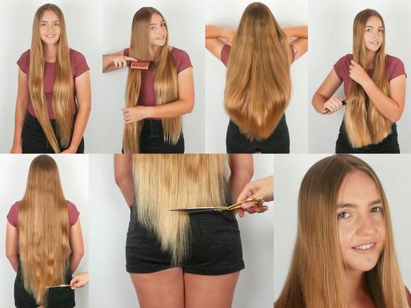 Stephanie Hair Trim