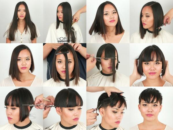 Maya Pixie Haircut
