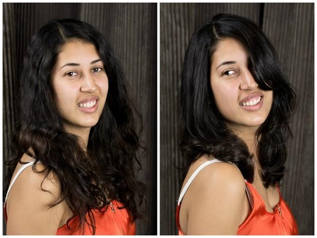 Ferziene's Medium Length Haircut