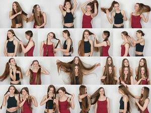 Bella & Joan Hair Play