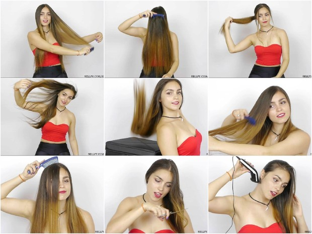 Lisa's Hair Play