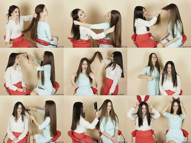 Marija & Sladjana Hair Play