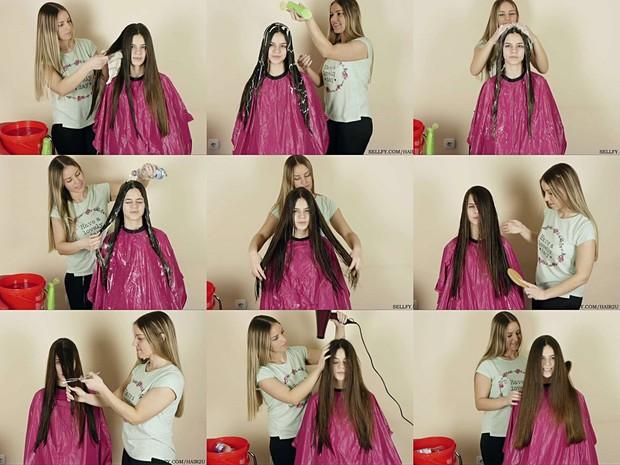 Sladjana & Jovana Hair Wash & Play