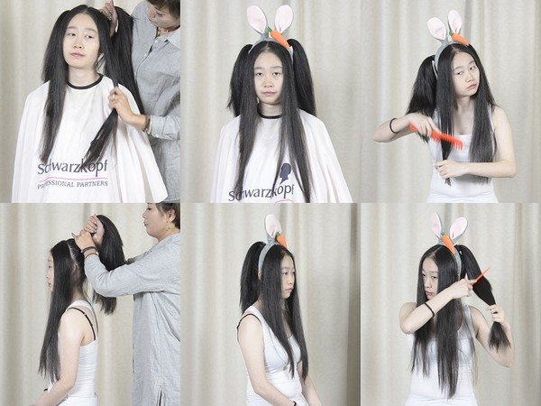 Miss Yun Hair Play Free Bonus Video (Part 0)
