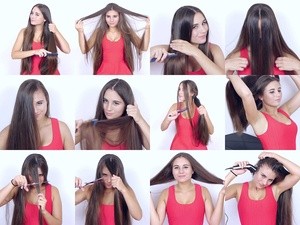 Diana's Long Hair Play