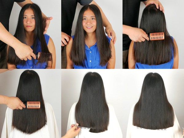 Kylie Hair Trim 2