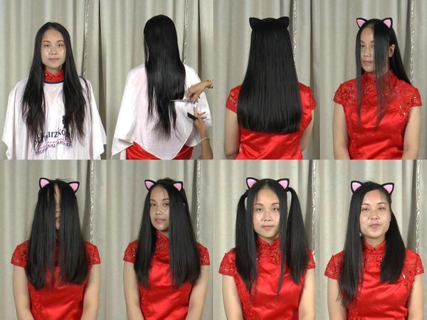 Miss Fan Hair Trim and Play
