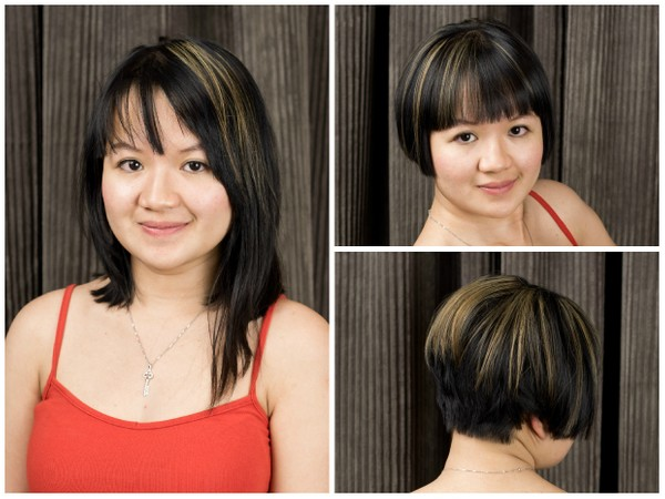 Yomi's Short Bob Haircut