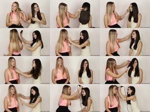 Jovana & Marija Hair Play