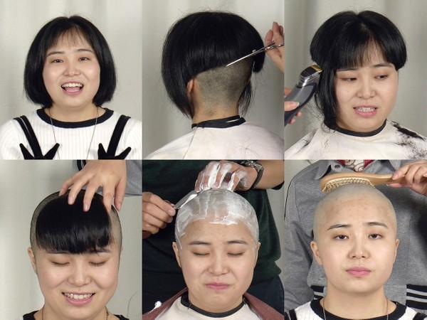 Angel Bald Shave