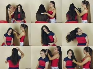 Monica Big Hair