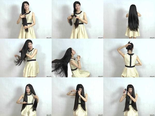 Miss Yi Hair Play