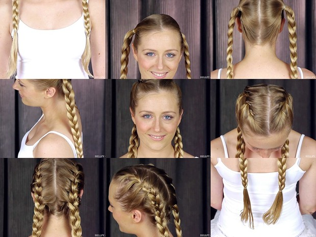 Kate's Double Braids