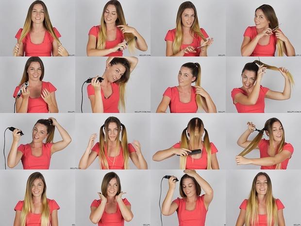 Tash ASMR Hair Play 1