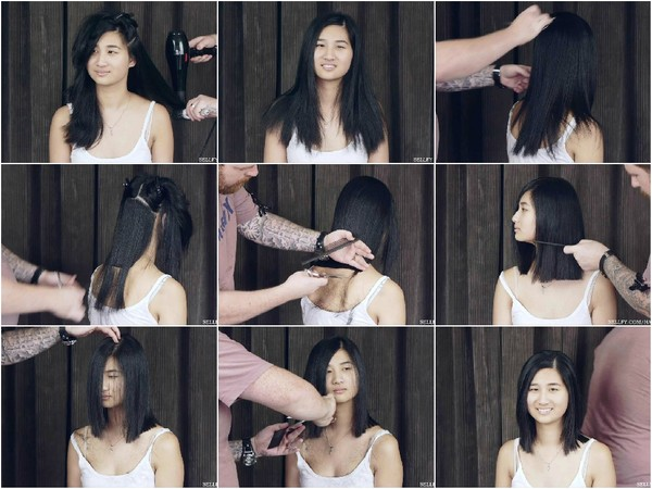 Jess's Shoulder Length Haircut