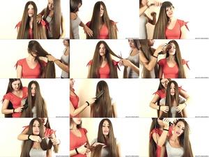 Suzana and Helena ASMR Hair Talk 2