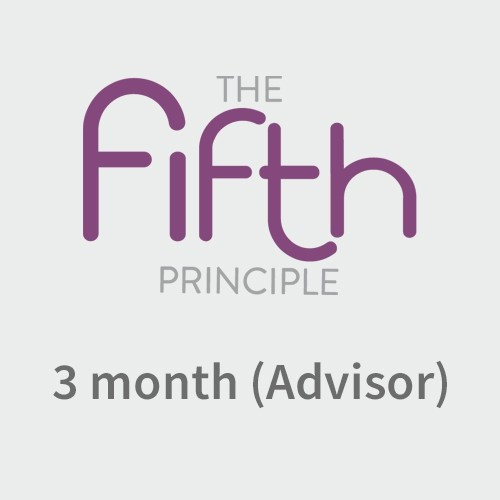 The Fifth Principle- Advisor