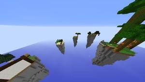 Mapas De Skywars qualquer tamanho