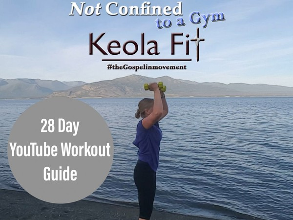 28 Day YouTube Workout Guide: Organize Your Free Workouts