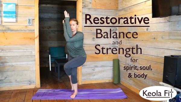 30 Min Restorative Full Body Workout for Spirit, Soul, and Body: