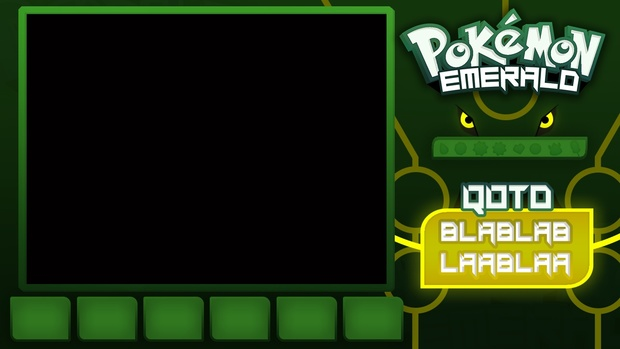 Pokemon Emerald FREE Layout Template