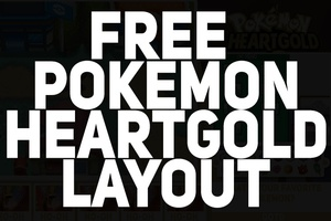FREE Pokemon Heartgold Layout