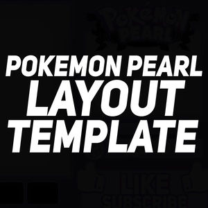 FREE Pokemon layout Template (Pearl)