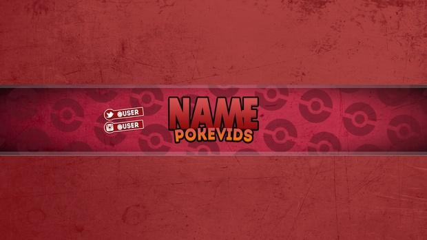 FREE Pokemon Banner Template