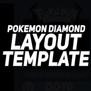 FREE Pokemon Layout Template (Diamond)